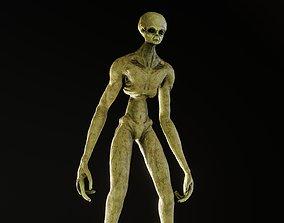 Tall Alien 3D model