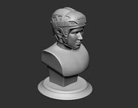 Hockey Player Collectible Figure Bust 3D print