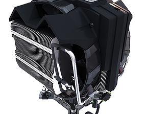 Cooler Master V8 air 3D model