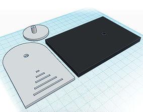Full scale Darth Vader Belt Buckle ANH 3D printable model