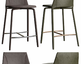 Fiona - Sg Bar Stool low poly 3d model low-poly