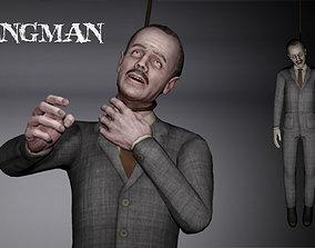 3D asset Hangedman