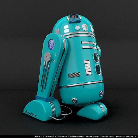 R2-D2 Retro