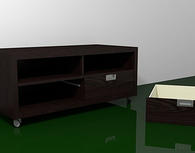 3D TV Stand tv-table