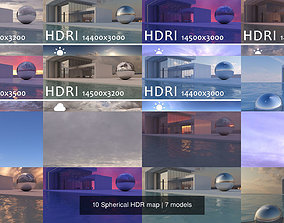 high 3D 10 Spherical HDR map