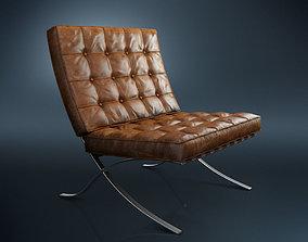 3D Barcelona Chair vintage
