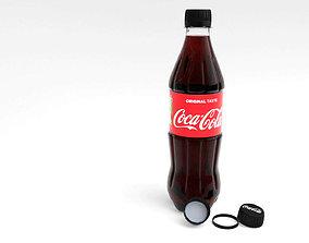 3D model CocaCola bottle 2019