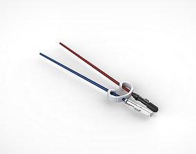 3D print model Lightsaber Chopsticks Starwars