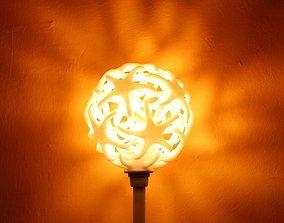 Double star lamp 3D printable model