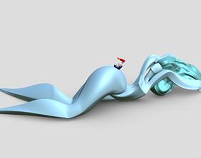 3D printable model River-girl