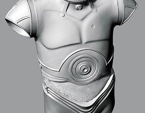C-3PO Body - Torso 3D scan 3D print model