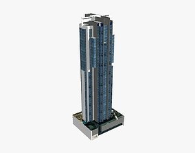 3D asset Charlotte Towers