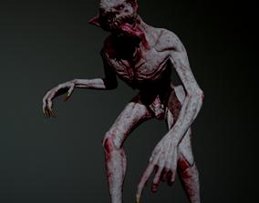 3D model rigged Vurdalak