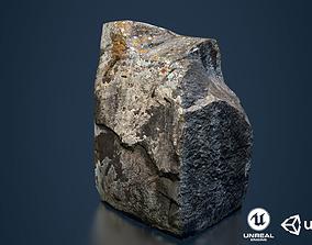 Rock low poly 3D model