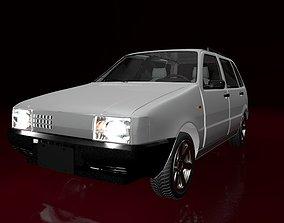 Mehran Car Animated 3D