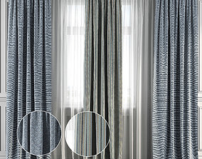 3D model Curtain Set 130