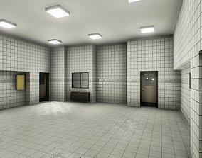 3D asset Facility interior modular UE4