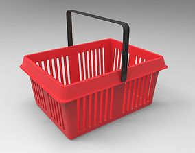 3D model container Shopping Basket
