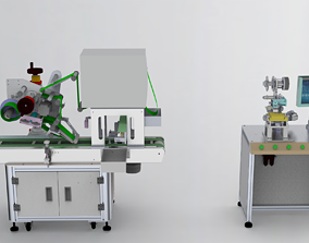 3D model Assembly of laminating machines