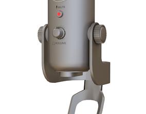Yeti Blue Microphone 3D model