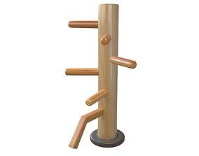 Wooden Dummy v1 002 3D model