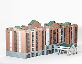 3D model Hyatt Place Dublin