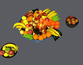 3D Some kinds of fruits
