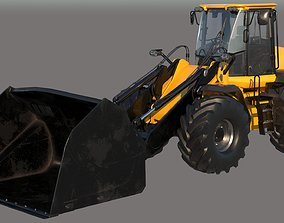 3D Wheel Loader Vehicle VRay PBR