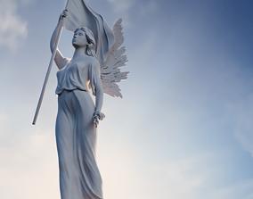 Liberty Angel Statuette 3D print model