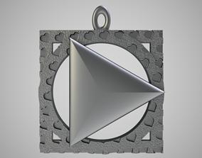 Love Play Keychain 3D print model
