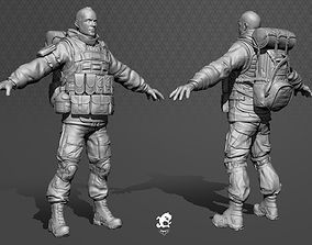 complete Soldier 3D model