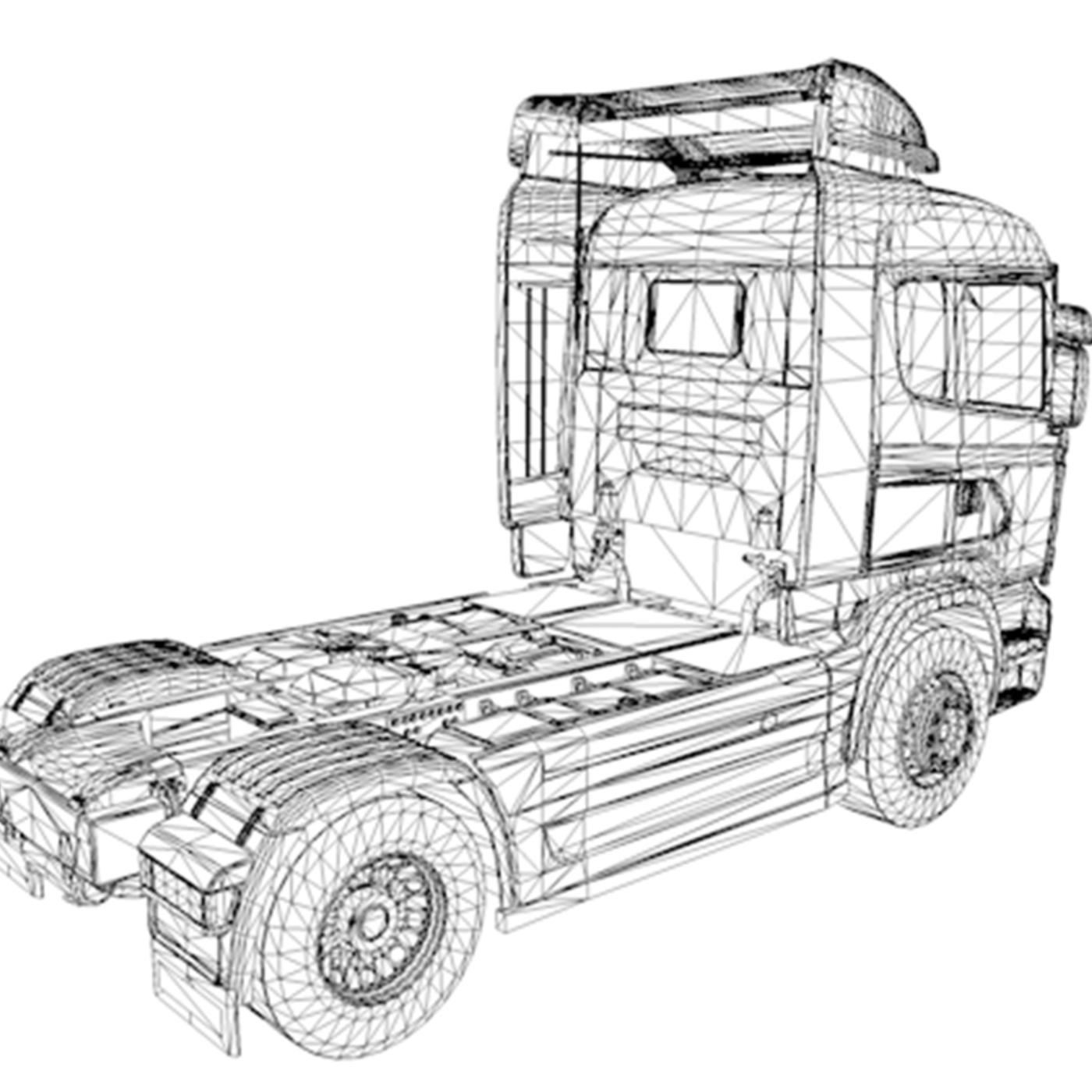 Scania R730 V8 Truck