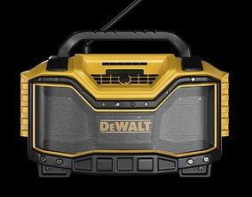 3D asset radio dewalt