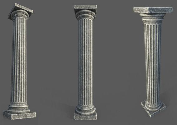 Game Art : Roman Column