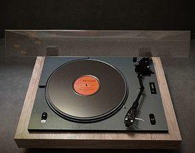 3D model Vinyl player