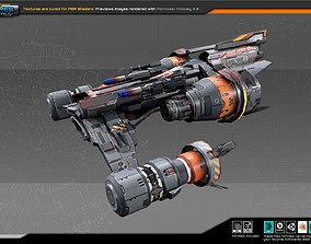 SF Fighter RK6 3D asset