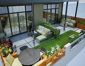 roof design 3D printable model