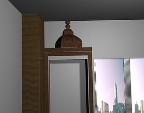 Temple Prayer Room 3D asset