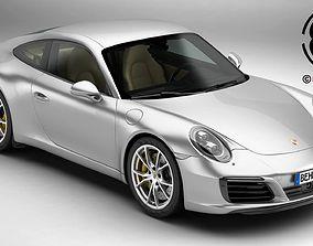 3D Porsche 911 Carrera 2017