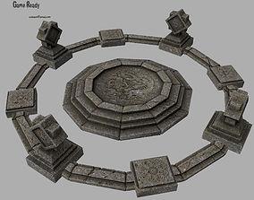 temple 2 3D asset