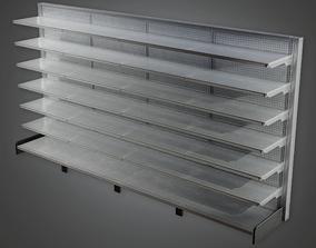 3D model Commerical Shelf 02 - SAM - PBR Game Ready
