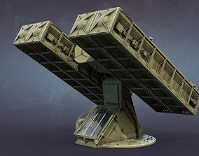 3D model Strela-10 9K35 Missile System