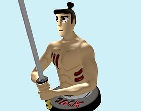 Samurai Jack for 3d printing