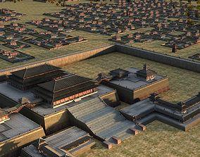 Weiyang Palace 3D model