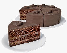3D chocolate cake