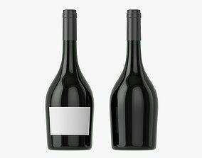Wine bottle mockup 12 3D model