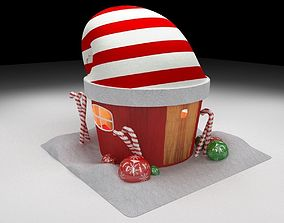 The house of Santa Clause 3D model