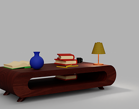 3D model game-ready Desk Table