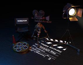 Film Equipment 3D asset