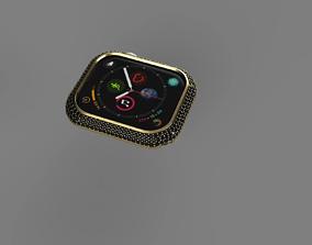 3D print model Apple Watch Series 4 Diamond Cover